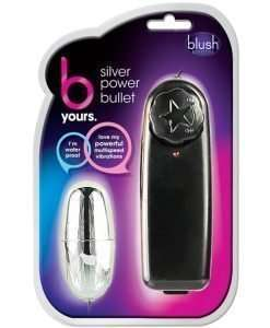 Blush B Yours Silver Power Bullet