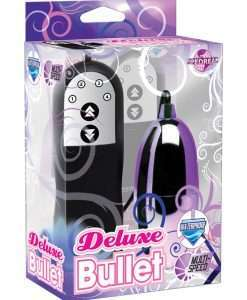 Deluxe Bullet Waterproof Vibe - Mutli-speed Purple