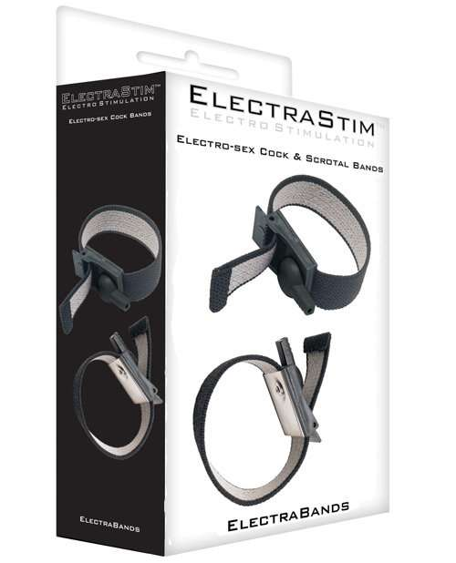 Electrastim Accessory - Adjustable Fabric Cock and Scrotal Loops