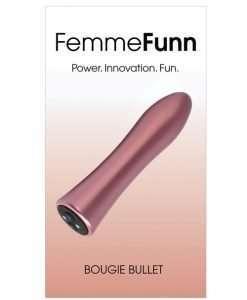 Femme Funn Bougie Bullet - Rose Gold