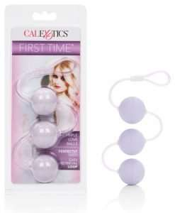 First Time Love Balls Triple Lover - Purple