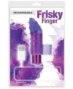 Frisky Finger Rechargeable - Purple