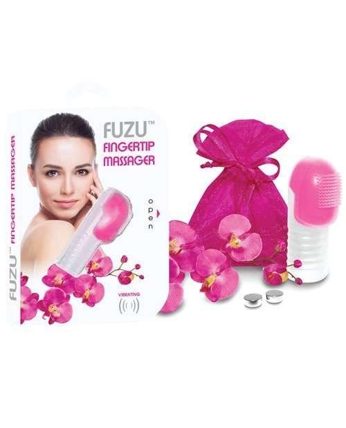 Fuzu Fingertip Massager - Neon Pink