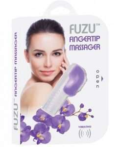 Fuzu Fingertip Massager - Neon Purple