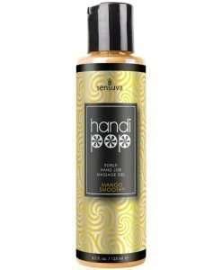 Handipop Hand Job Massage Gel - 4.2 oz Bottle Mango Smoothie