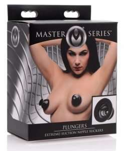 Master Series Plungers Extreme Suction Silicone Nipple Suckers