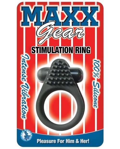Maxx Gear Stimulation Ring - Black