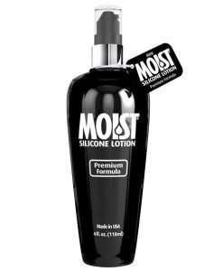 Moist Silicone Lube - 4 oz Pump Bottle