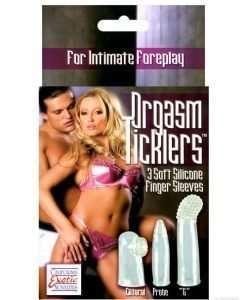 Orgasm Ticklers - Clear