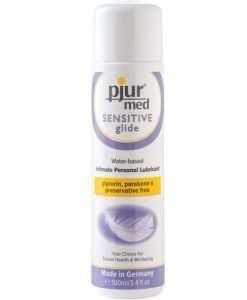Pjur Med Sensitive Glide - 100ml Bottle