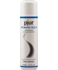 Pjur Woman Aqua Water Based Personal Lubricant - 100 ml Bottle