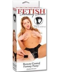 Remote Control Fantasy Panty Black O/S