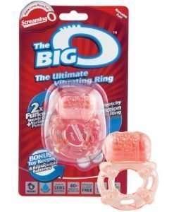 Screaming Big O Vibrating Ring
