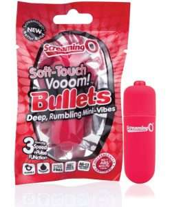 Screaming O Soft Touch Vooom Bullet - Red