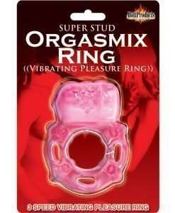 Super Stud Orgasmix Ring Pleasure Ring 3 Speed - Magenta