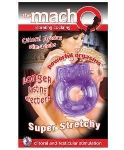 The MachO Vibrating Cockring - Purple