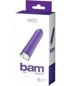 VeDO BAM Rechargeable Bullet - Into You Indigo