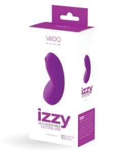 VeDO Izzy Rechargeable Clitoral Vibe - Violet Vixen