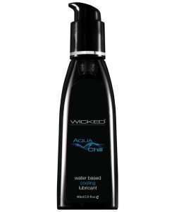 Wicked Sensual Care Chill Cooling Sensation Water Based Lubricant - 2 oz