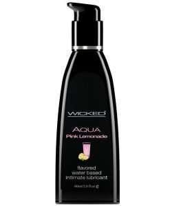 Wicked Sensual Care Water Based Lubricant - 2 oz Pink Lemonade
