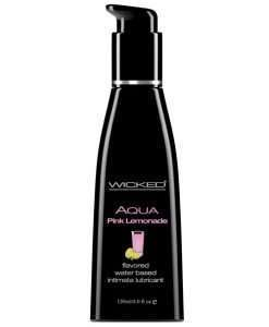 Wicked Sensual Care Water Based Lubricant - 4 oz Pink Lemonade