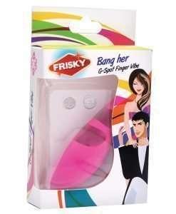 Frisky Finger Bang Her G Spot Finger Vibe - Pink