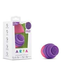 Blush Aria Tickler Rechargeable Stimulator - Pink