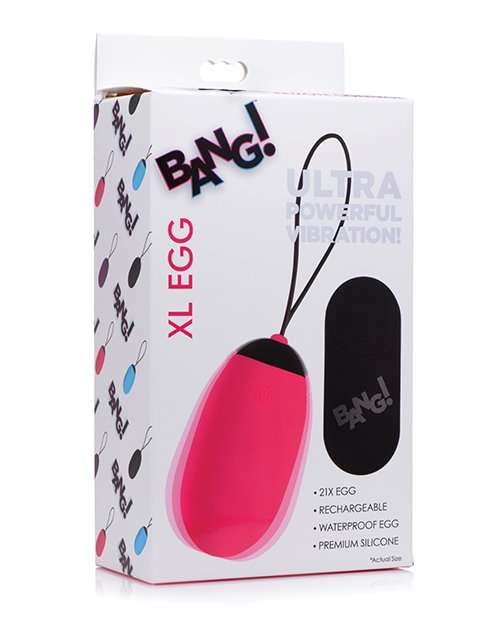 Bang! XL Vibrating Egg - Pink