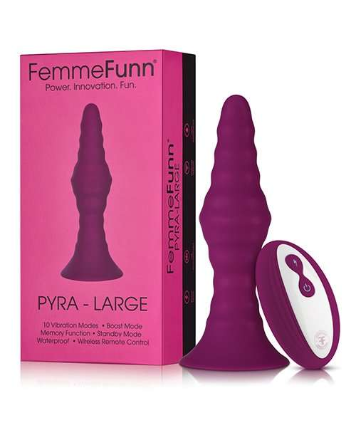 Femme Funn Pyra - Large Dark Fuchsia