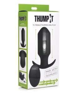 Thump It Thumping 7x Missile Anal Plug - Black