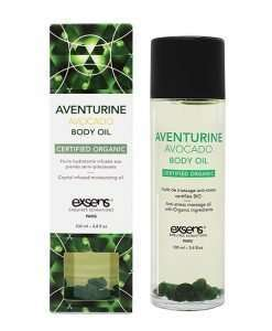 EXSENS Organic Body Oil w/Stones - Adventure Avocado 100 ml