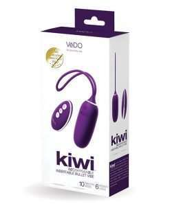 VeDO KIWI Rechargeable Insertable Bullet - Deep Purple