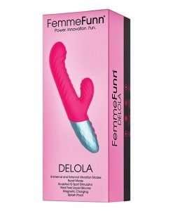 Femme Funn Delola Liquid Silicone Rabbit - Pink