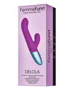 Femme Funn Delola Liquid Silicone Rabbit - Purple