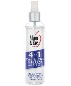 Adam & Eve 4 In 1 Pure & Clean Foaming Cleaner - 4oz