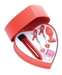 Frisky Passion Heart Gift Set - Red