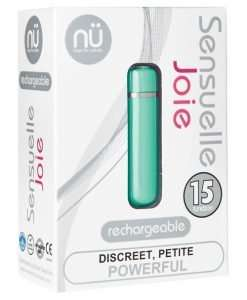 Nu Sensuelle Joie Bullet 15 Function Eldorado Exclusive - Colorado Blue