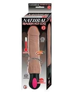 Natural Realskin Hot Cock #3 - Brown