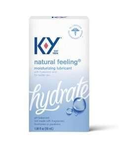 K-Y Natural Feeling w/Hyaluronic Acid - 1.69 oz