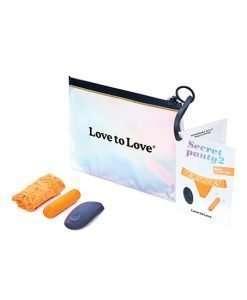 Love to Love Secret Panty Vibe 2 - Neon Orange