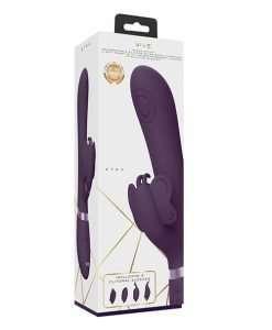 Shots Vive Etsu  Pulse G-Spot Rabbit w/Interchangeable Clitoral Attachments - Purple